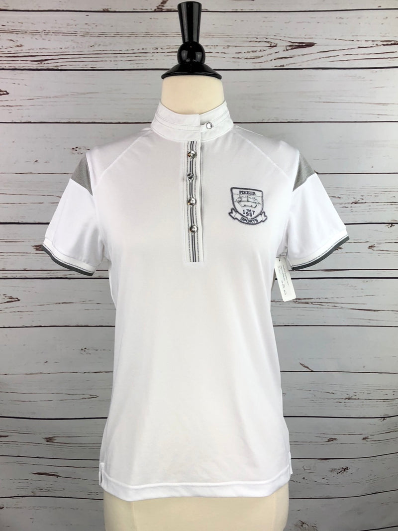 Pikeur Competition Shirt in White - Women's 38/Medium