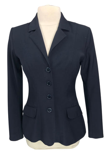 Winston Equestrian Classic Hunter Competition Coat in Navy - Women's 40T (US 12T) | L