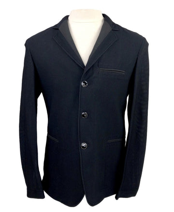 front view of alessandro albanese motionlite jacket size medium in black