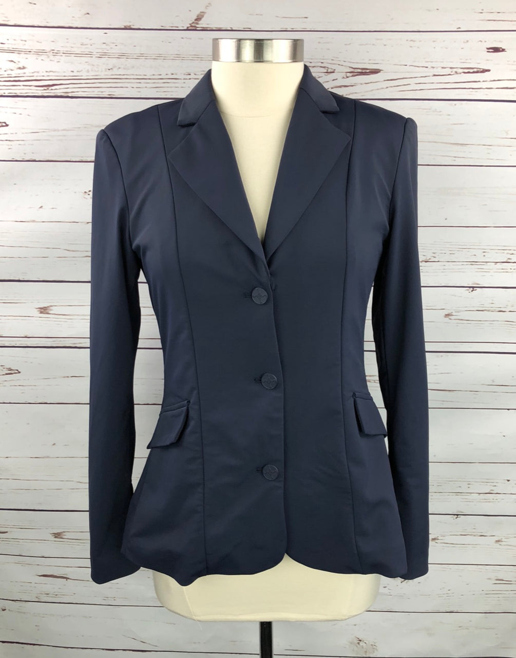 Tredstep Solo Classic Competition Coat in Navy - Women's US 4