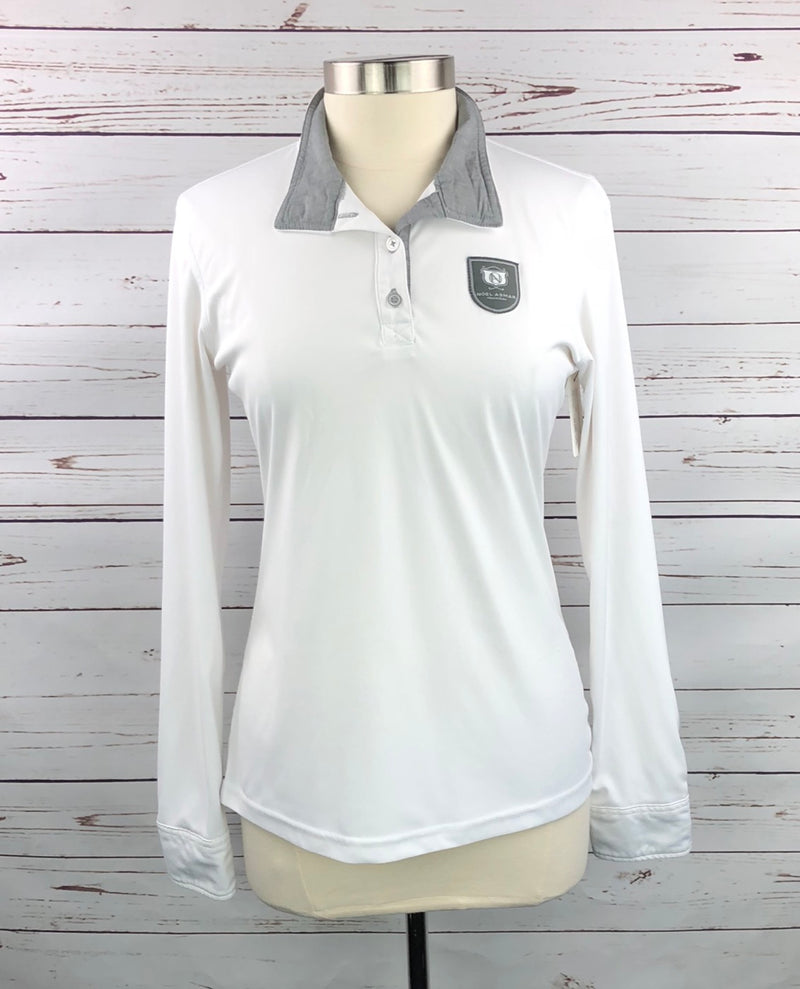 Asmar Equestrian Convertible Polo in White - Women's Large