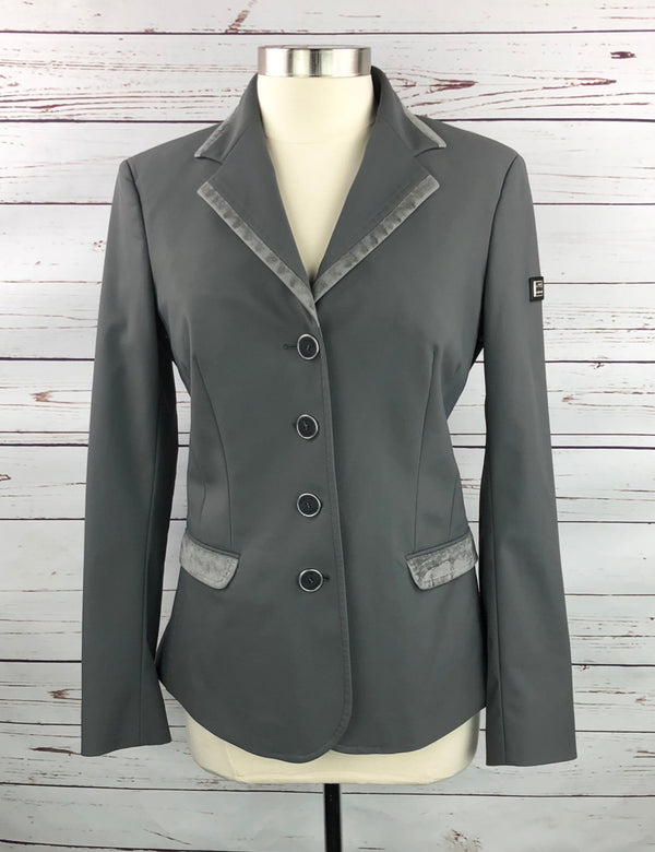 Equiline X-Cool Technical Competition Jacket in Grey - Women's IT 46