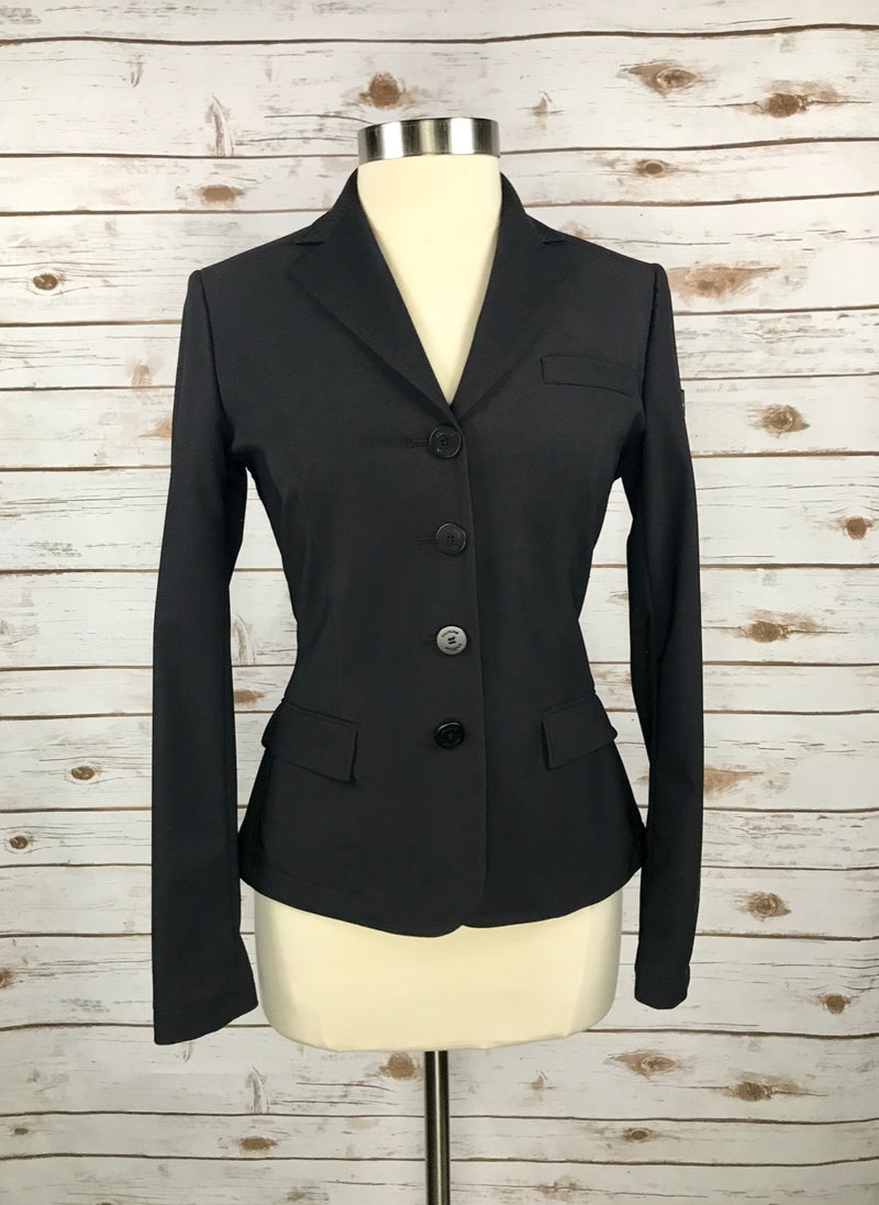 Equiline Gillian X-Cool Competition Jacket in Black - Women's IT 42