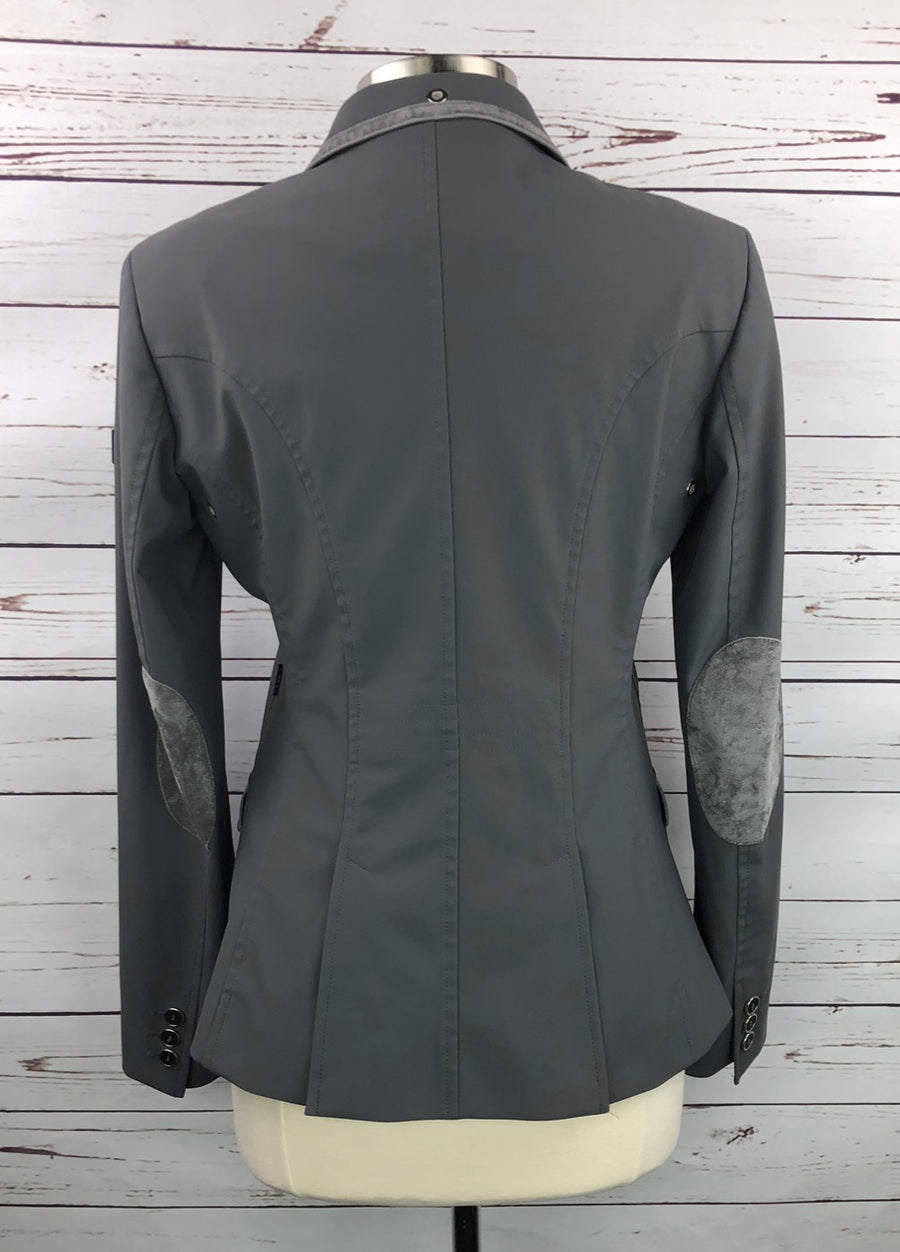 Equiline X-Cool Technical Competition Jacket in Grey - Women's IT 46 (US 10) | M