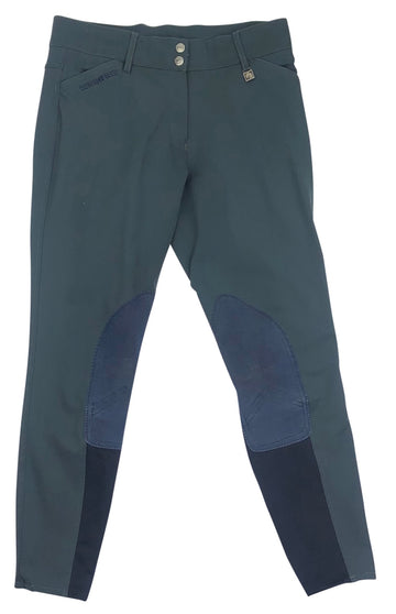 Romfh Sarafina Knee Patch Breeches in Navy