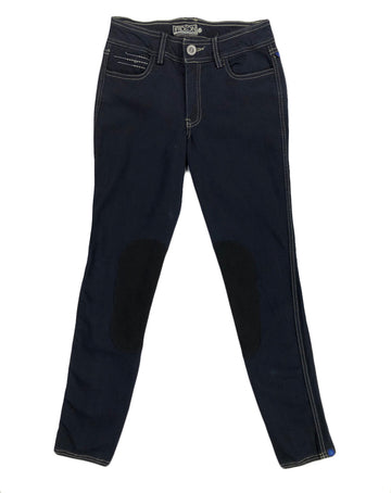 NWT Irideon Verano Denim Breeches in Black - Women's 24 | XS/S
