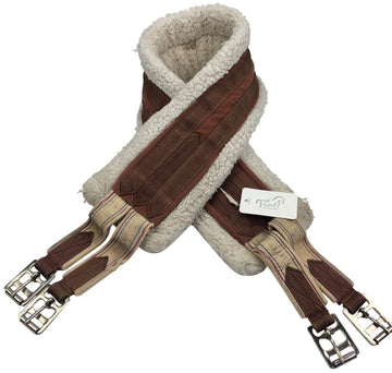Toklat Fleece Girth in Brown