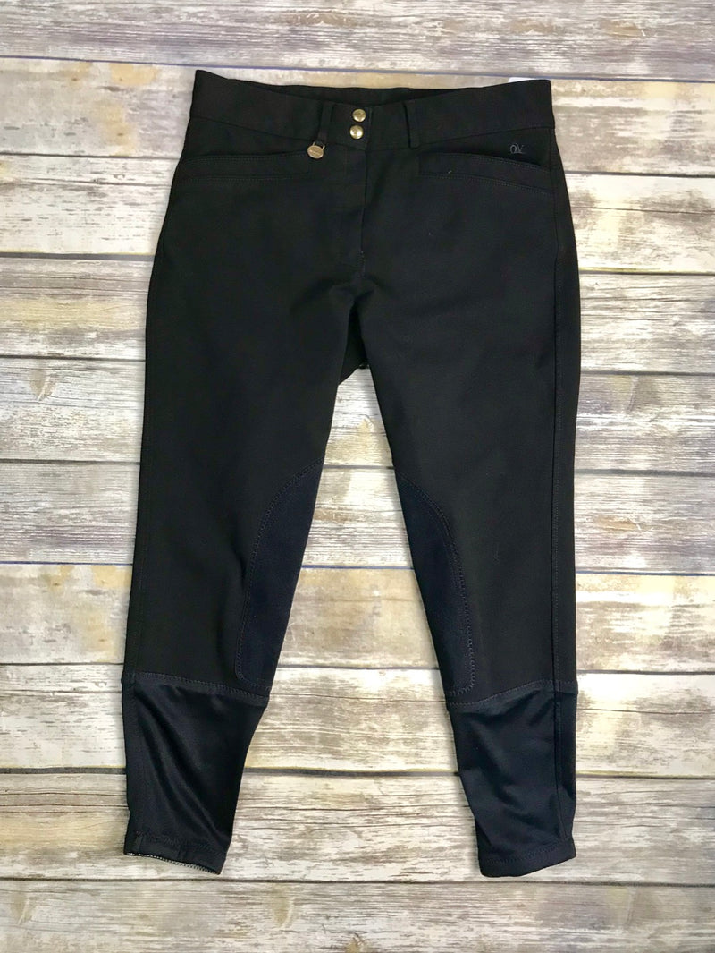 Ovation Celebrity Euroweave DX Breeches in Black - Women's 32R