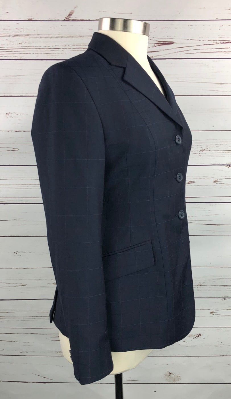 RJ Classics Prestige Washable Hunt Coat in Navy - Right Side View