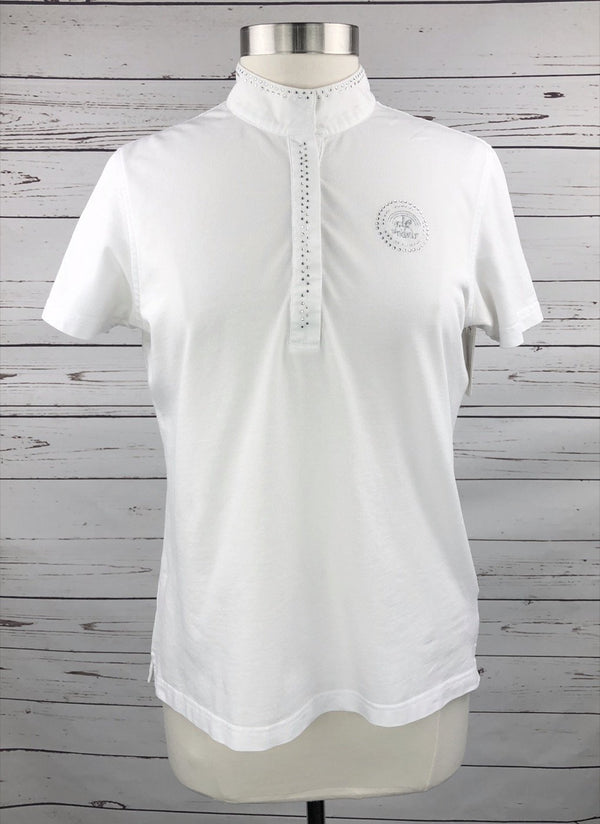 Pikeur Competition Shirt in White - Women's EU 46 (US 14)