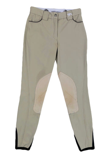 Sarm Hippique Olbia Hunter Breeches in Beige - Women's US 22 | XS