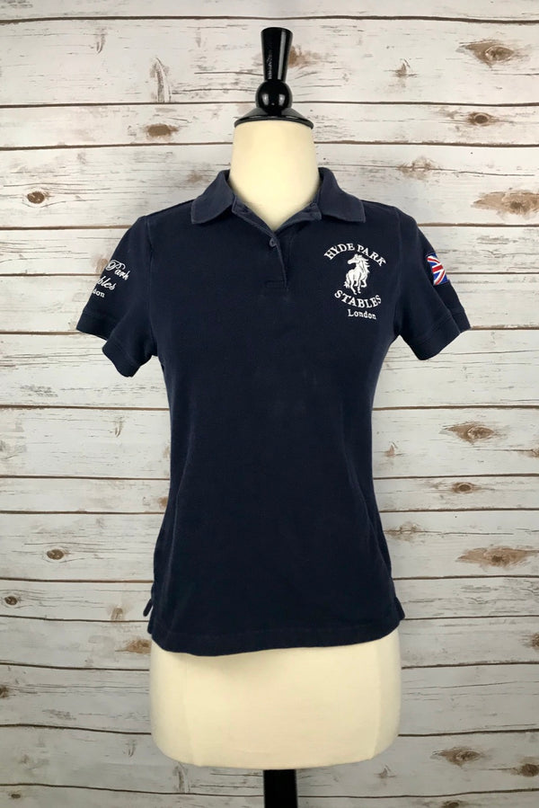 Hyde Park Stables Polo in Navy - Women's Small