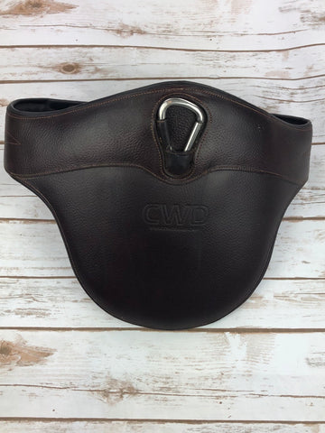 CWD Jumping Belly Guard Girth in Brown - Size 125cm/49.5