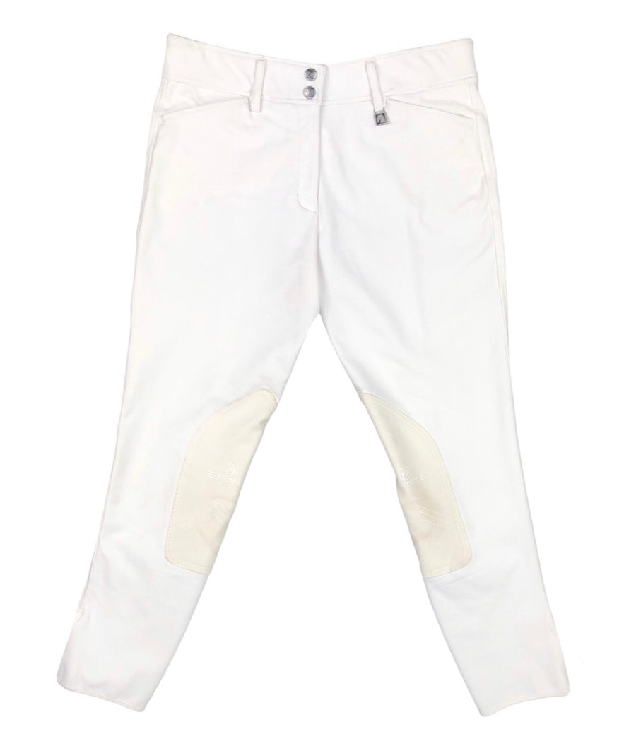 Romfh Champion Breeches in White - Women's 30R | M/L