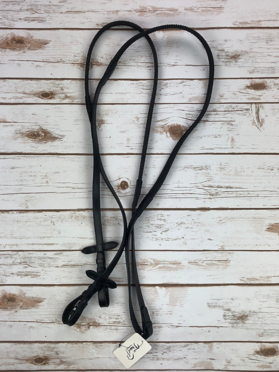 Rubber Reins in Black - Full Size
