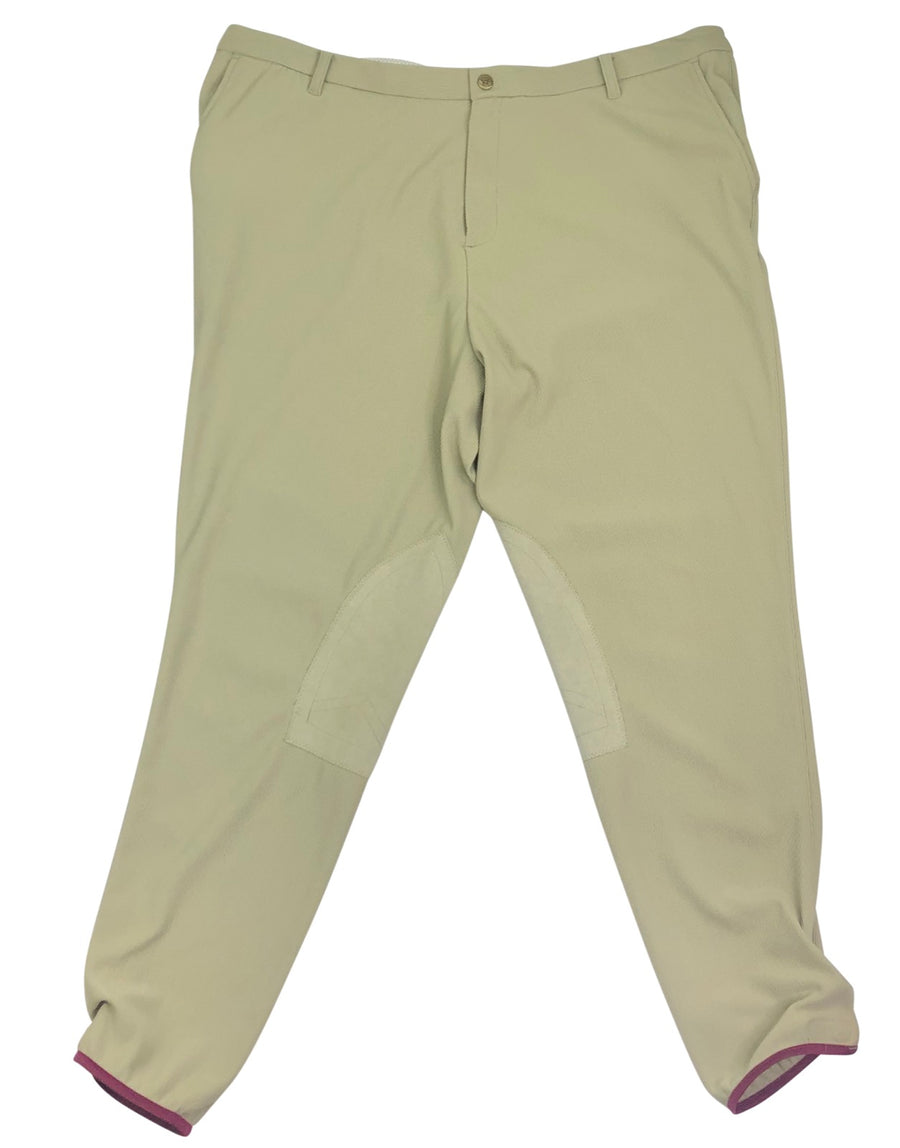 Devon Aire Pro Ribbed Breeches in Tan