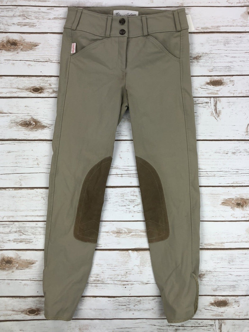 The Tailored Sportsman Trophy Hunter Breeches in Tan - Children's 14R