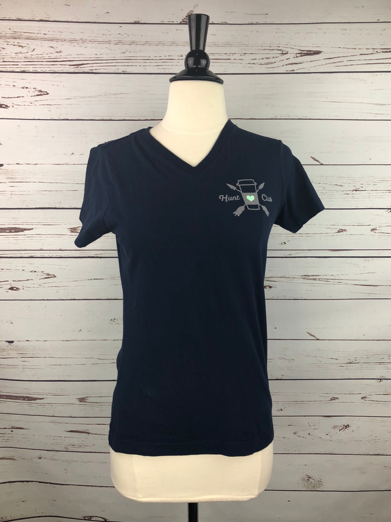 Hunt Club Rise & Grind Tee in Navy - Women's Small