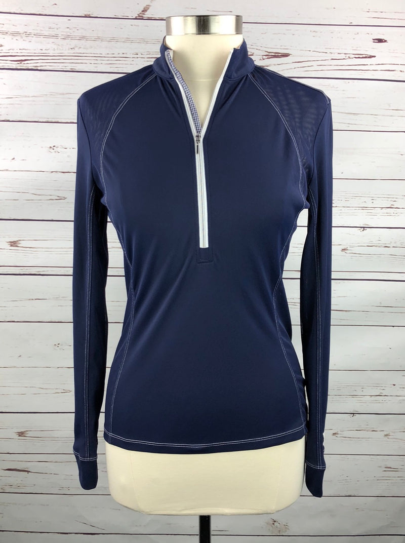 FITS Sea Breeze Tech Shirt in Navy - Women's Small