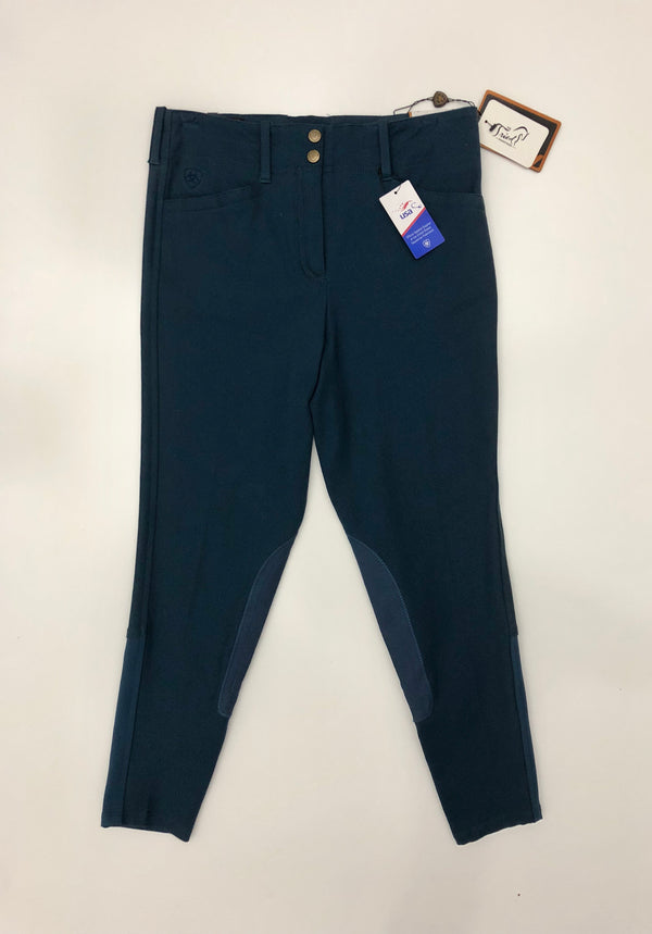 Ariat Brittany Breeches in Azure - Children's 14R