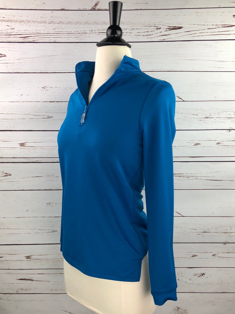 EIS Cold Weather Shirt in Peacock Blue - Women's XS