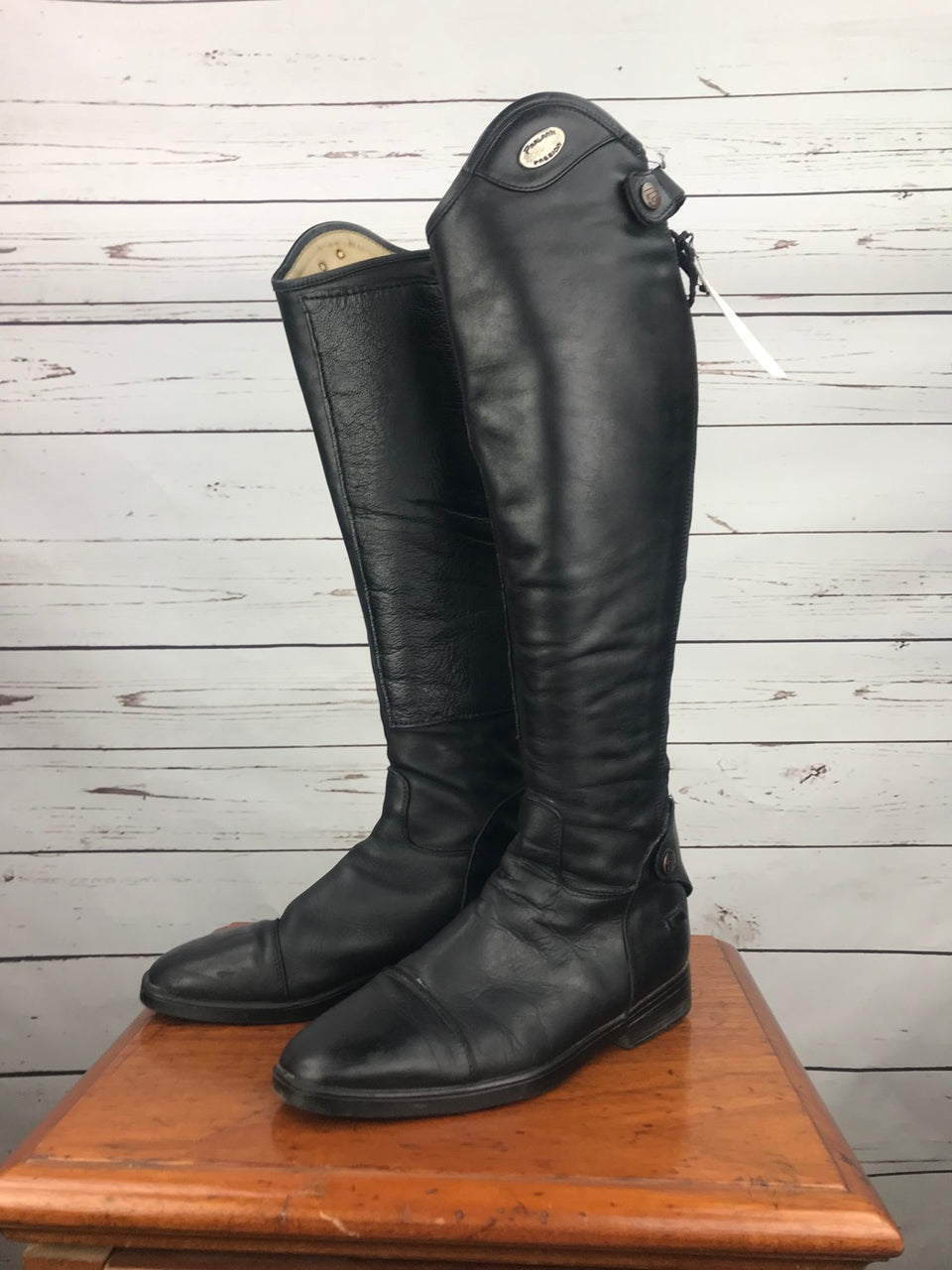 Parlanti Denver Boots in Black - EU 38 (Approx. L+)