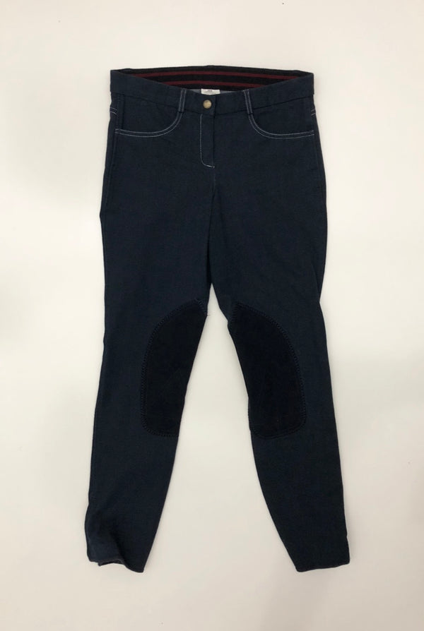 Riding Sport Knit Jean Breeches in Navy - Women's 26R