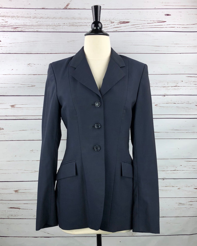 Grand Prix Hunt Coat in Navy - Women's 10T (US 4T) Slim