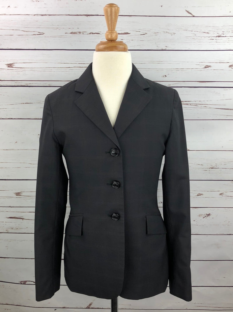 Grand Prix Hunt Coat in Black - Children's 14R Slim