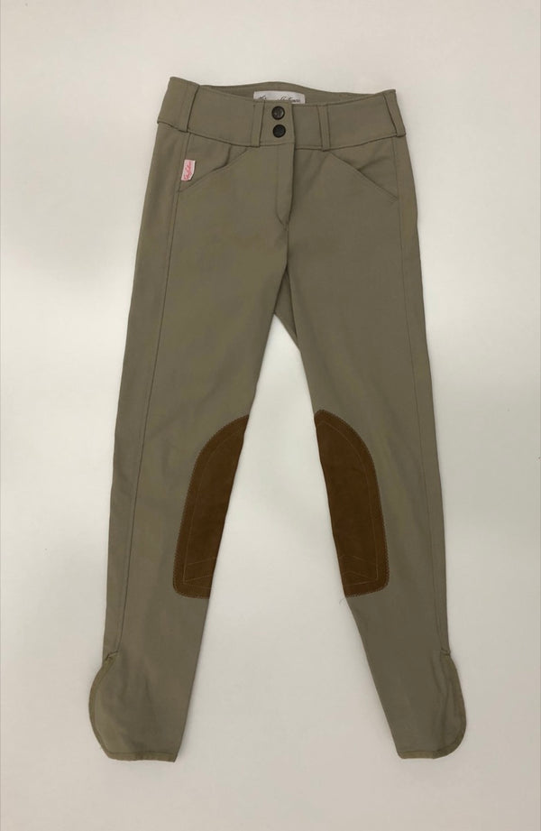 Tailored Sportsman Trophy Hunter Breeches in Tan - Children's 8R
