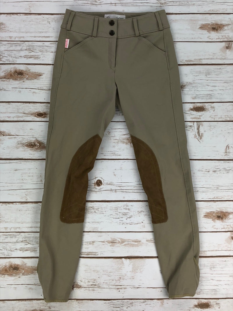 The Tailored Sportsman Trophy Hunter Breeches in Tan - Women's 22R