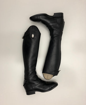 Ariat Monaco LX Field Boot in Black- Top View