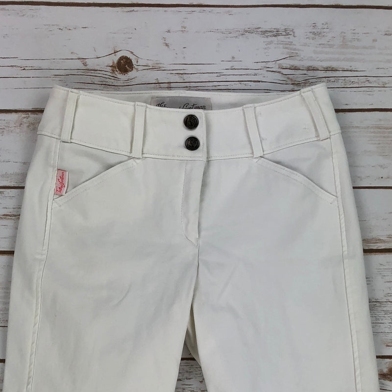 The Tailored Sportsman Trophy Hunter Breeches in White - Women's 22R