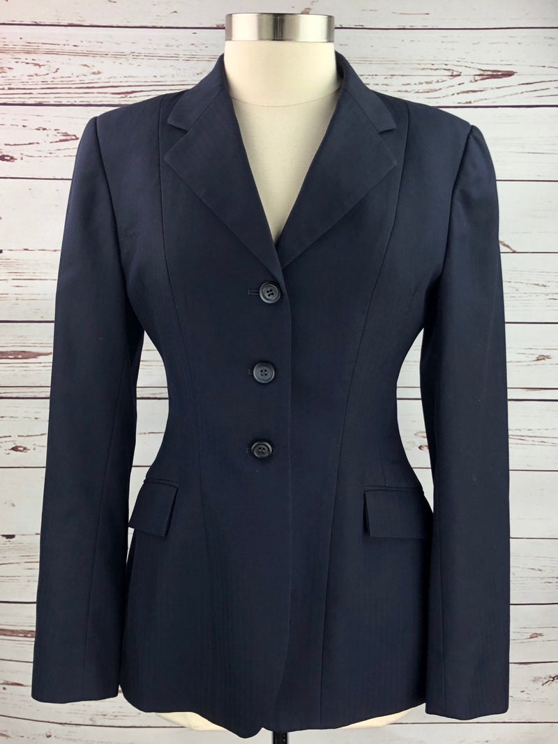 Grand Prix Hunt Coat in Navy - Women's 14T (US 8T)