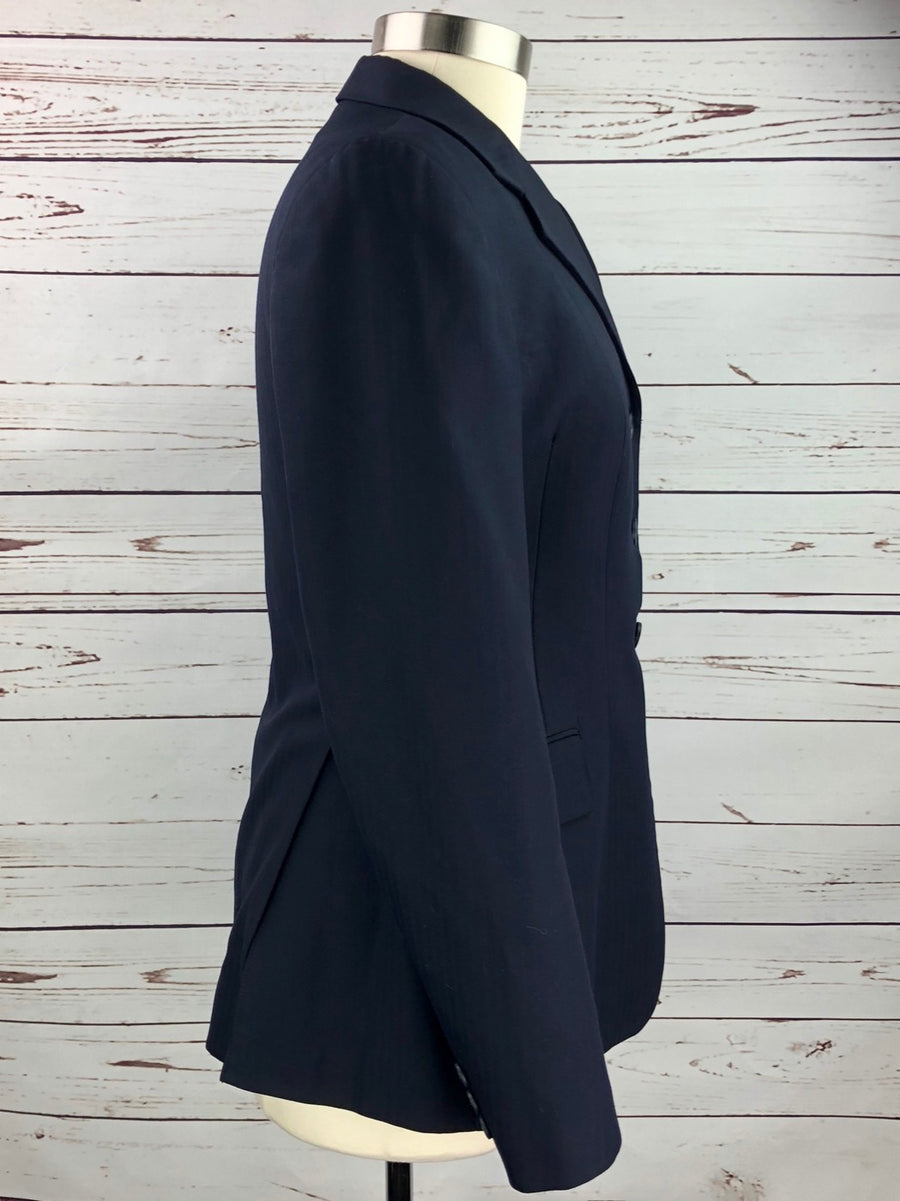 Grand Prix Hunt Coat in Navy -  Right Side View