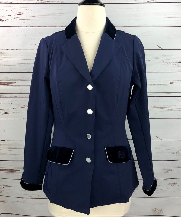 Arista Modern Show Jacket in Navy - Women's Small