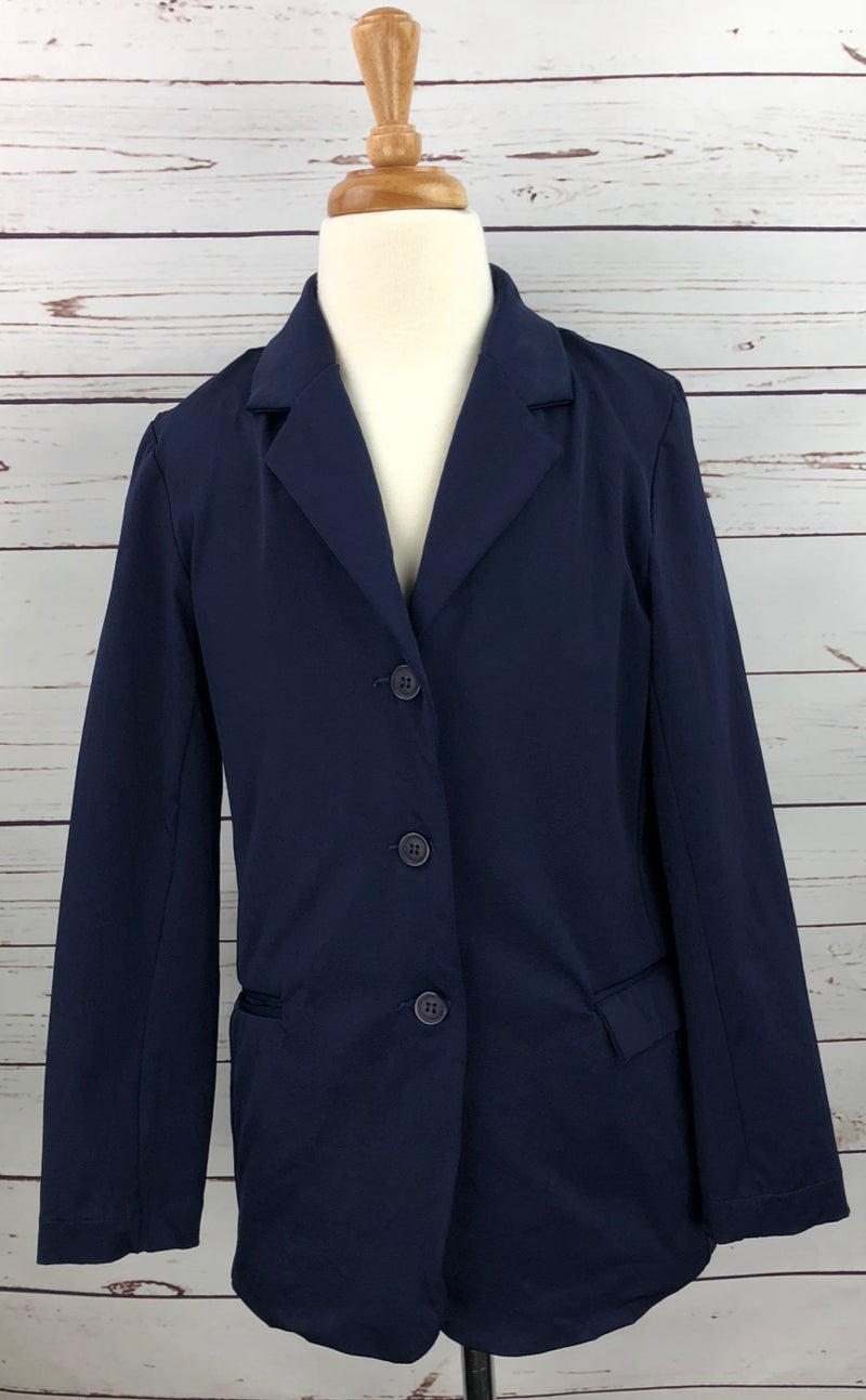 Equine Couture Raleigh Show Coat in Navy - Children's 14