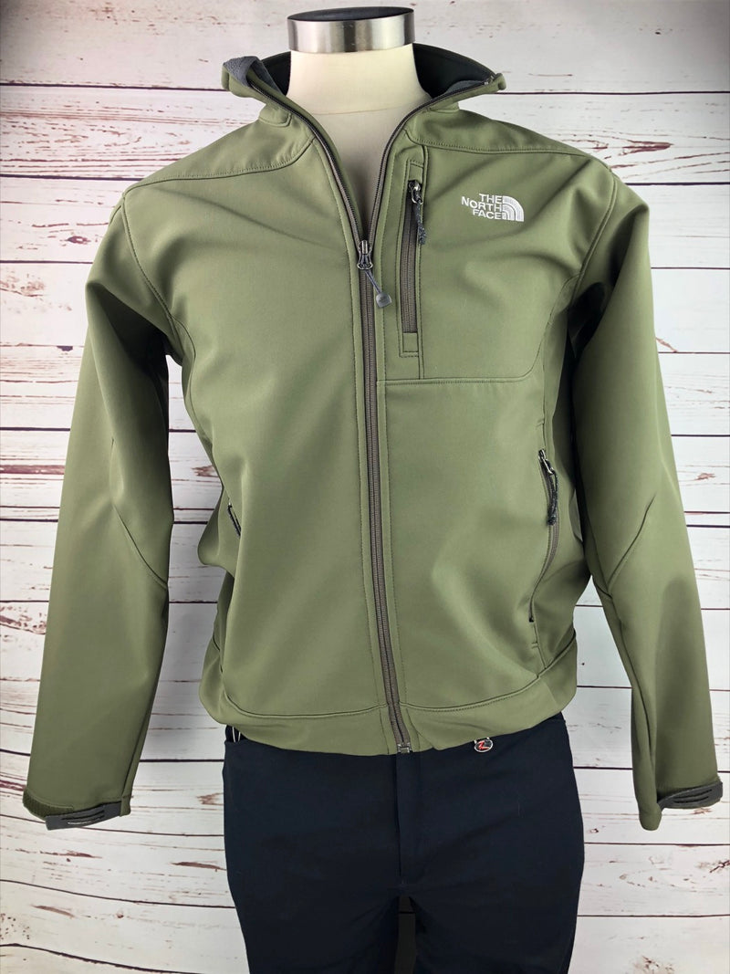 The North Face TNF Apex Soft Shell Jacket in Olive - Men's Medium