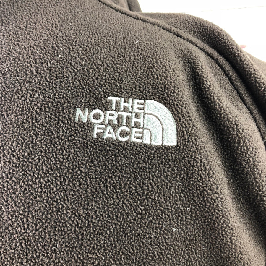 The North Face Fleece Zip Jacket in Brown - Men's M