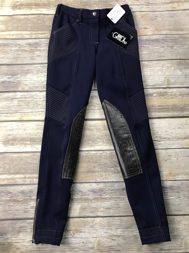 GhoDho Luna Breeches in Navy - Women's 28