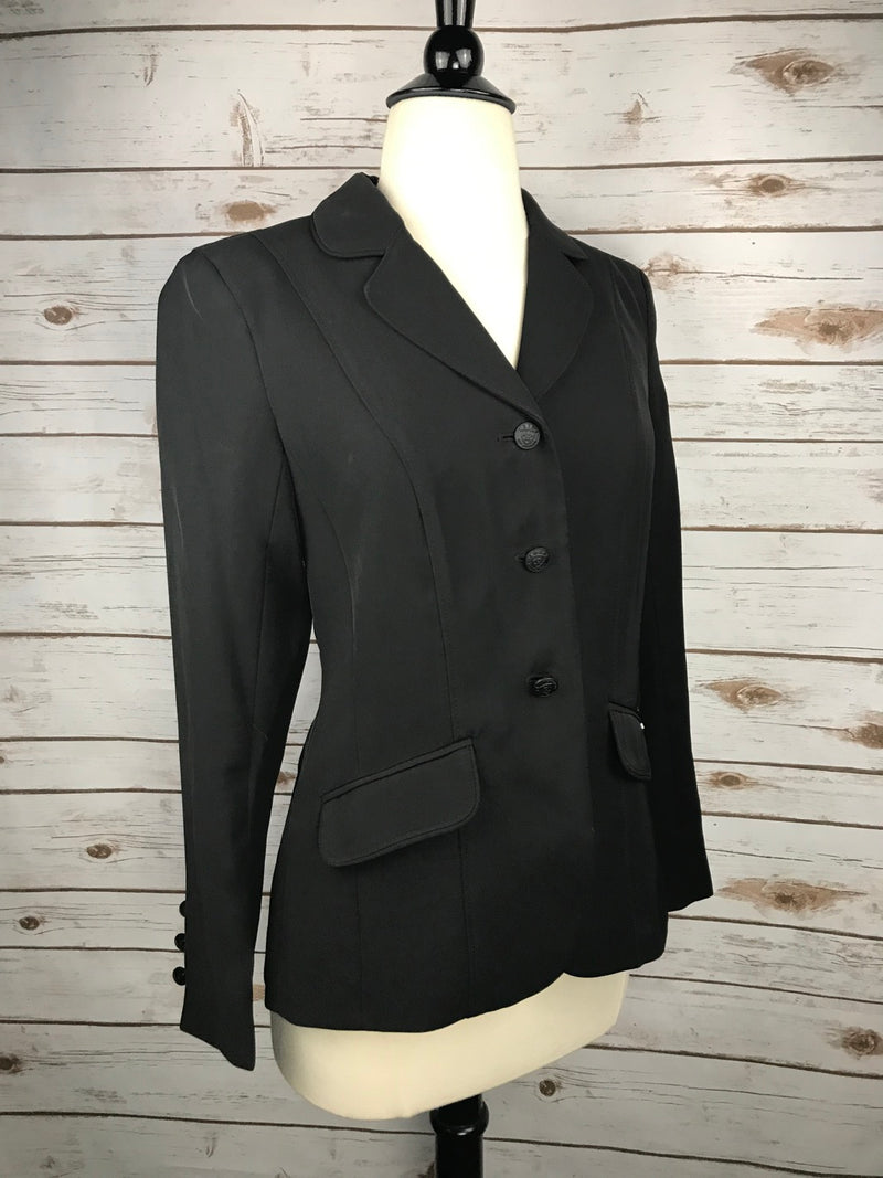 Ariat Heritage Show Coat in Black - Women's 2R