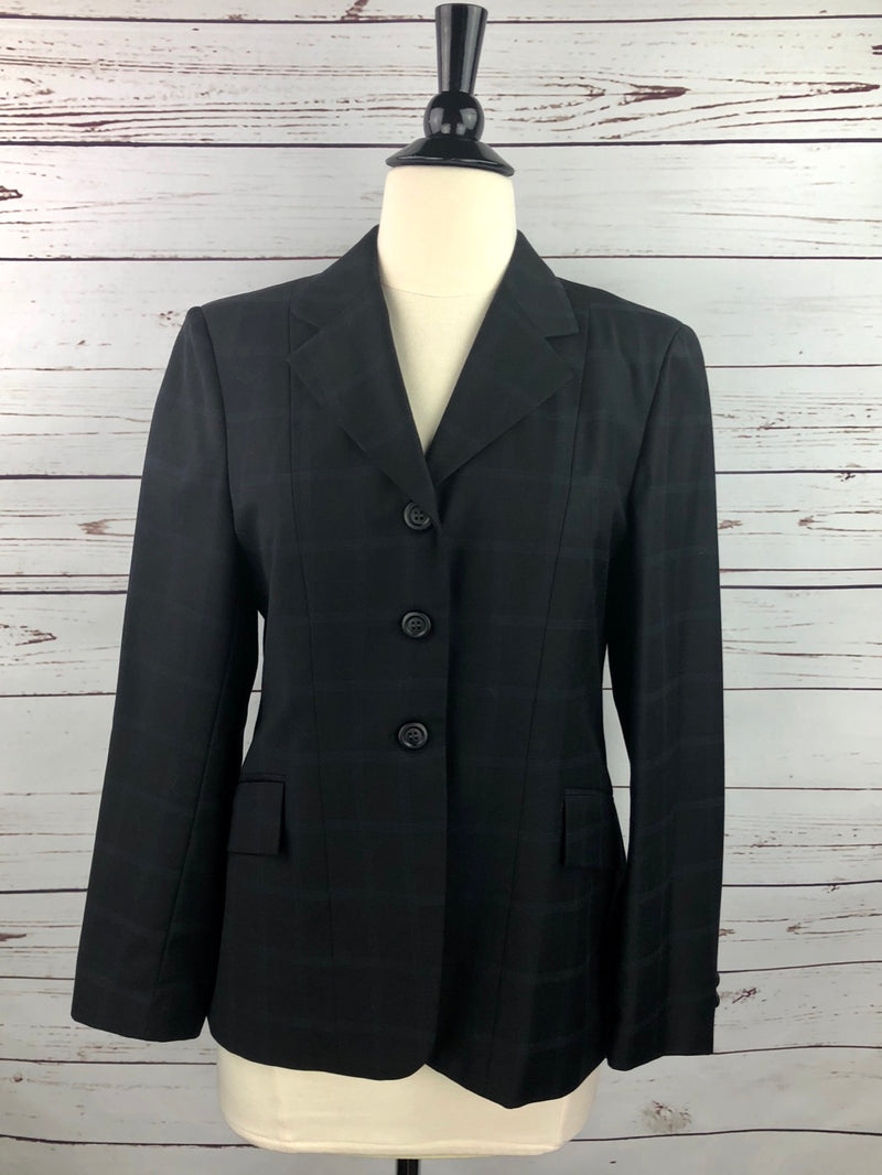Elite Hunt Coat in Black Plaid - Women's 12S (US 6S)