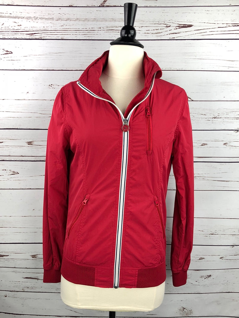 JOTT Anita Windbreaker in Red - Women's Small