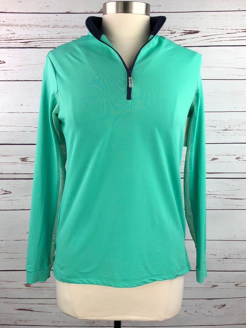 EIS Cool Shirt in Jade/Navy - Women's Medium