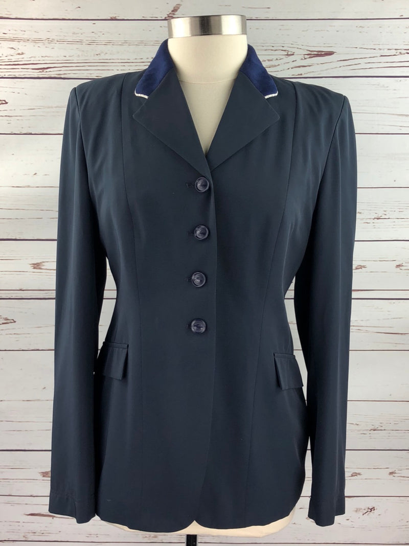 Grand Prix TechLite Hunt Coat in Navy - Women's 16R (US 10R) Slim