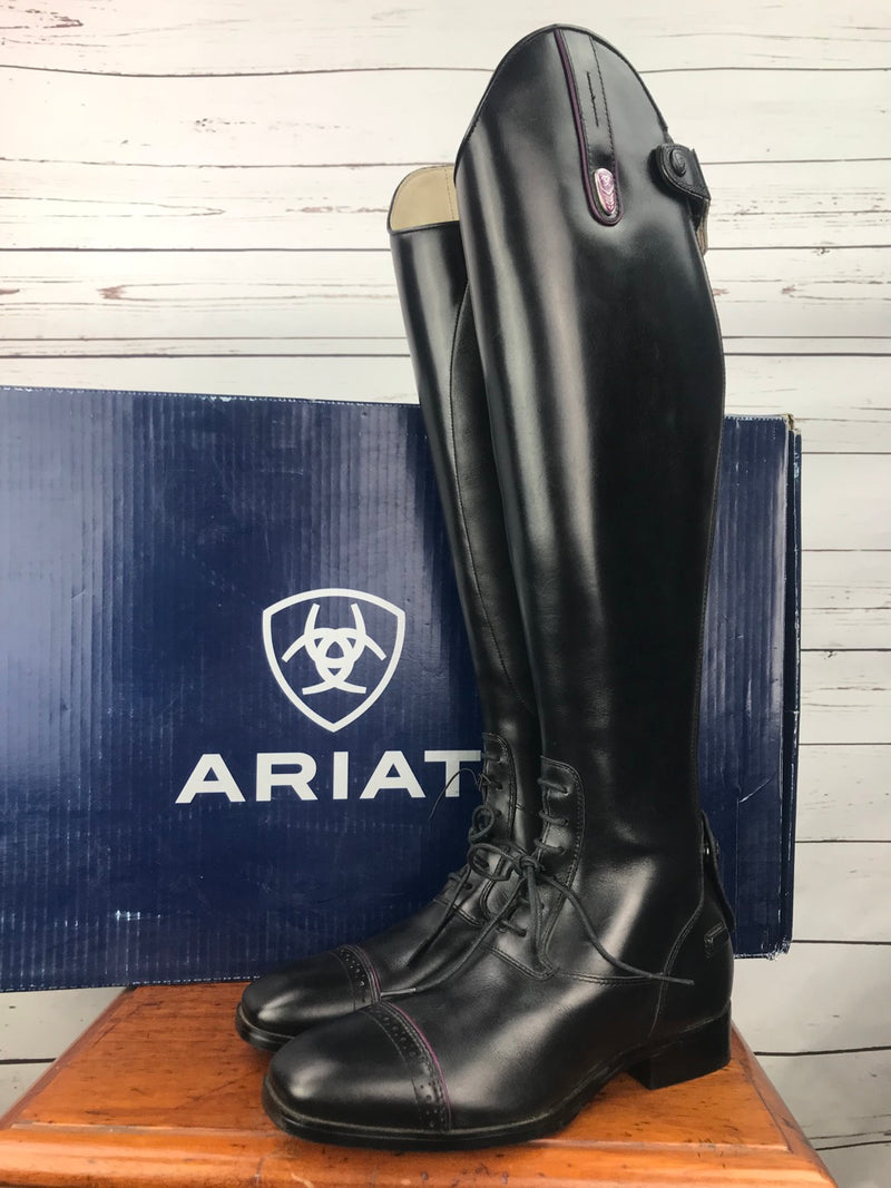 Ariat FEI Monaco LX Field Boot in Black - Women's US 8 Full/Medium