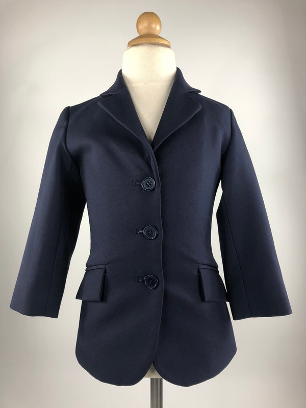 Shires Cotswold Show Jacket in Navy - Children's 2