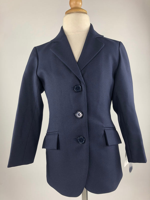 Shires Cotswold Show Jacket in Navy - Children's 4