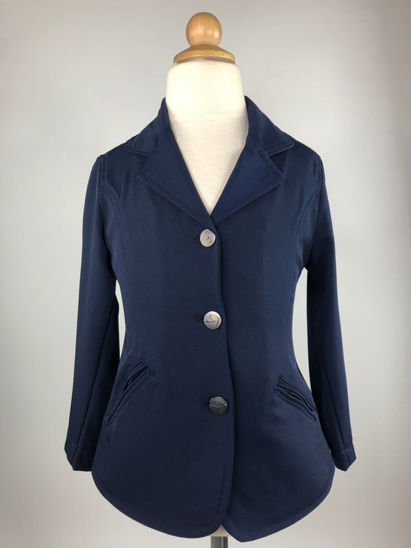 Kathryn Lily ShowTech Jacket in Navy - Children's 6
