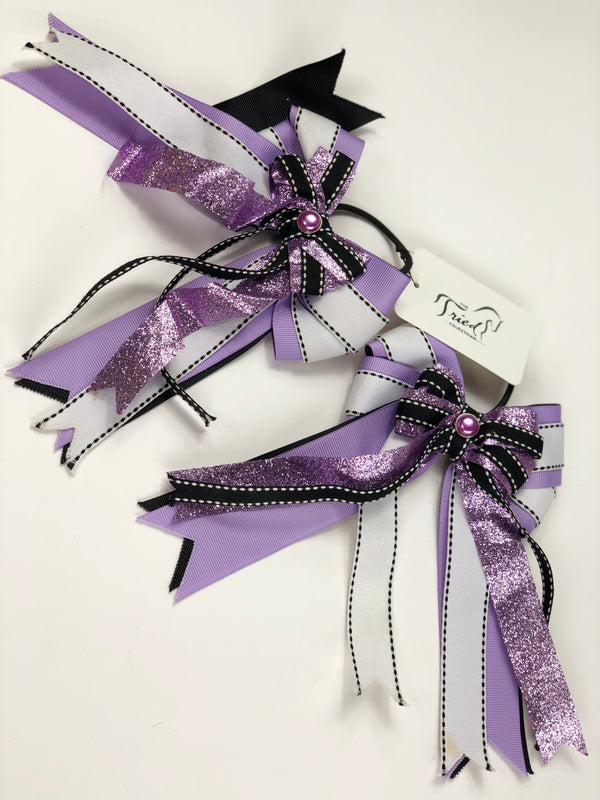 Show Bows in Purple - One Size